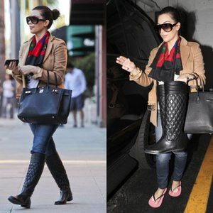 Stuart Weitzman Clute Quilted Boots on Sale!!
